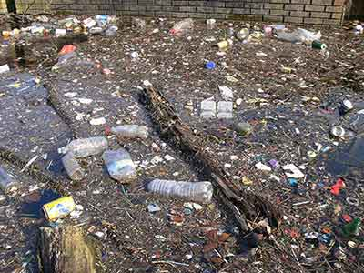 People and water pollution