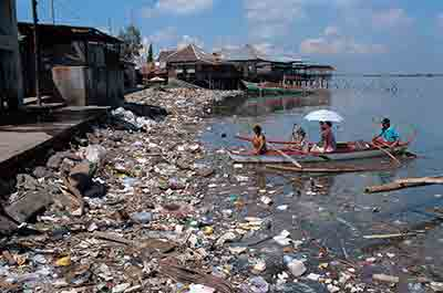 water pollution types and humans