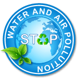 Stop water and air pollution